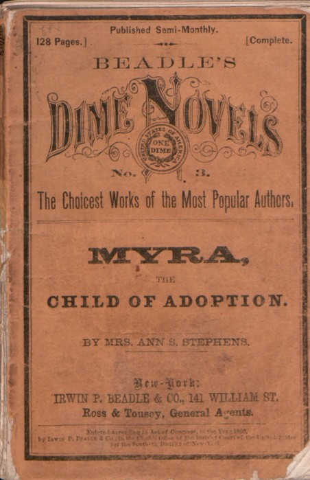 Novel - Myra, Child of Adoption