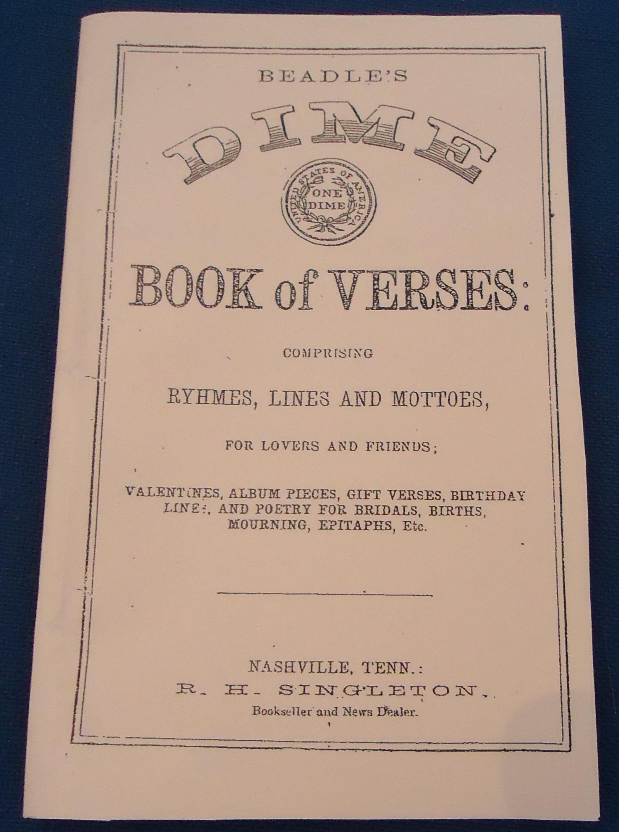 Dime Book of Verses