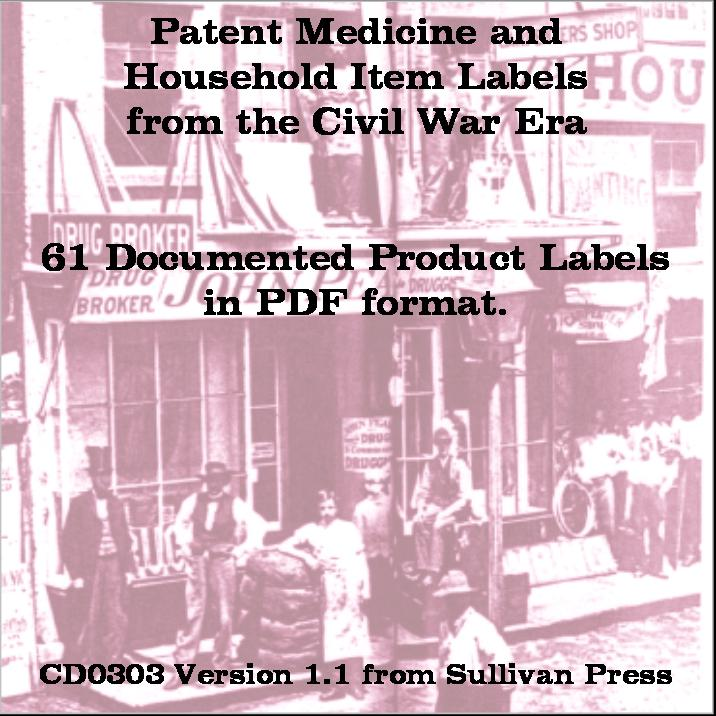 CD - Household Products and Patent Medicines