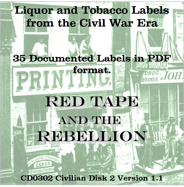 CD - Liquor and Tobacco Labels