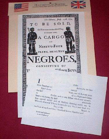 Documents of Slavery