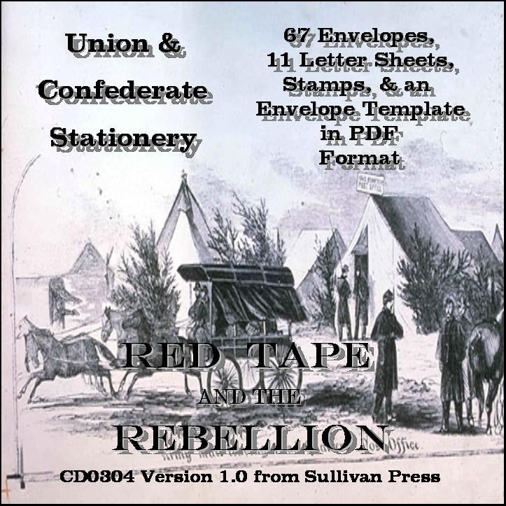 CD - Union and Confederate Stationery