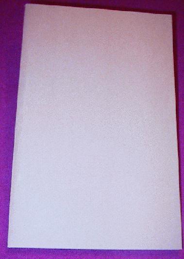Large Blank Book