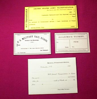 Railroad Passes of the Civil War