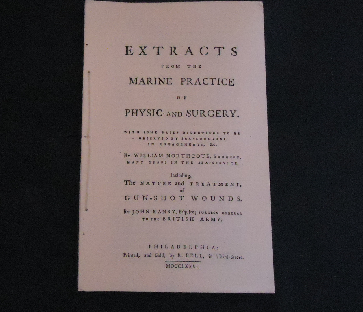 Extracts from the Marine Practice...