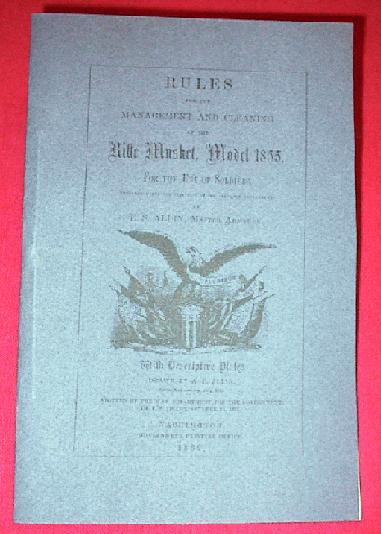 1855 Rifle Musket Manual