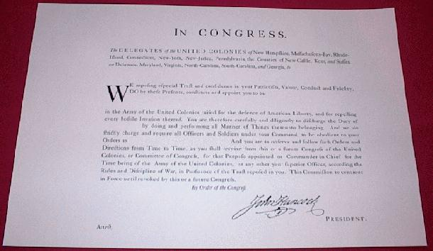 1775 Continental Commission