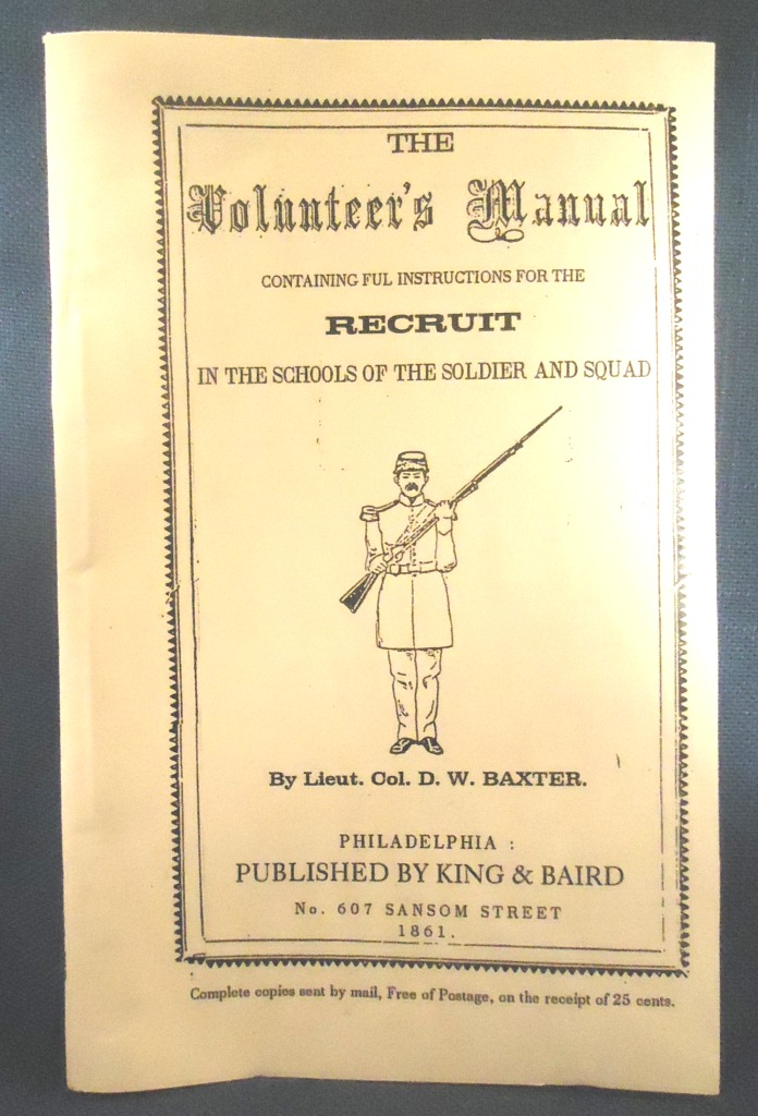 Baxter's Volunteer's Manual