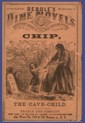 Dime Novel - Chip the Cave Child