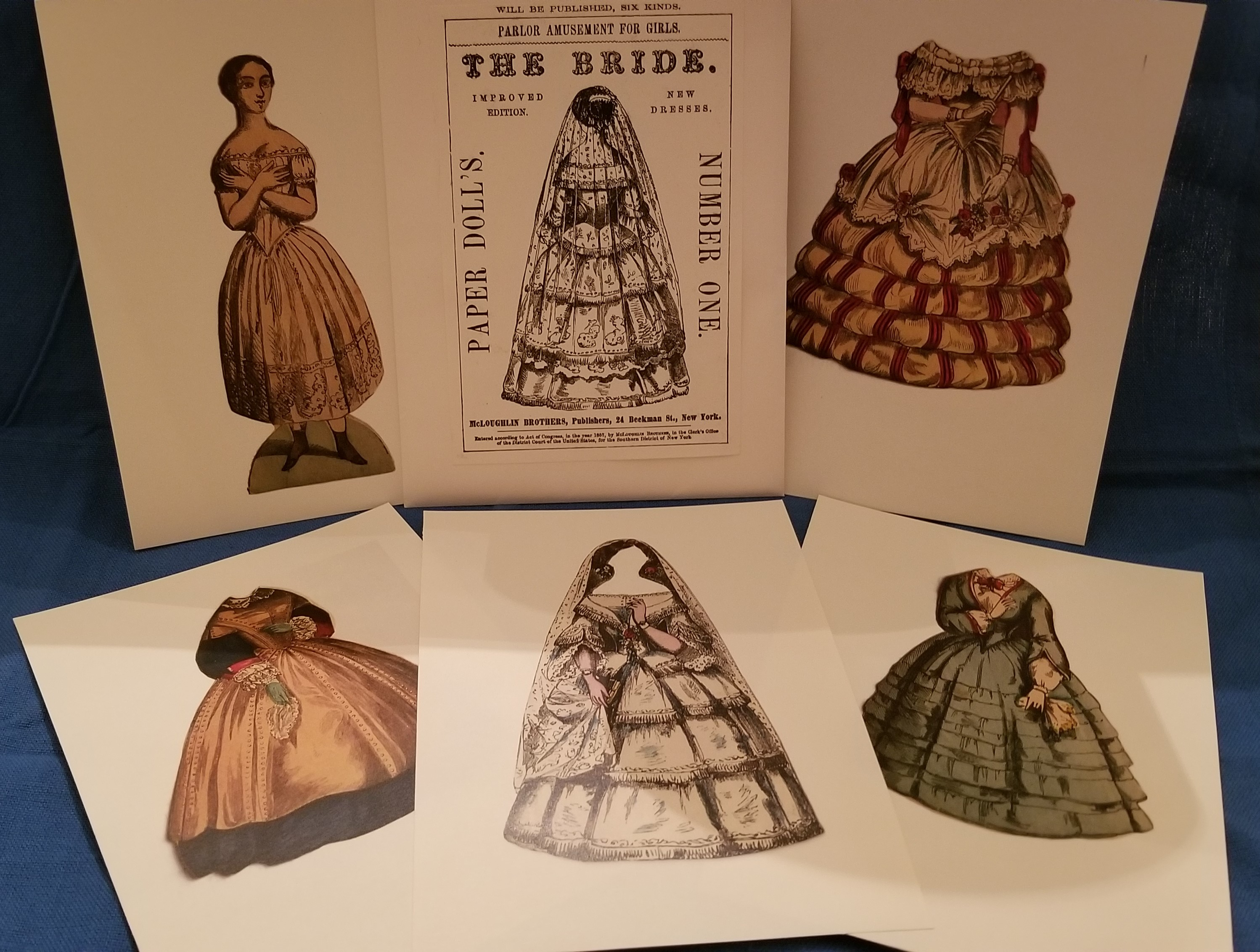 Paper Dolls from 1857