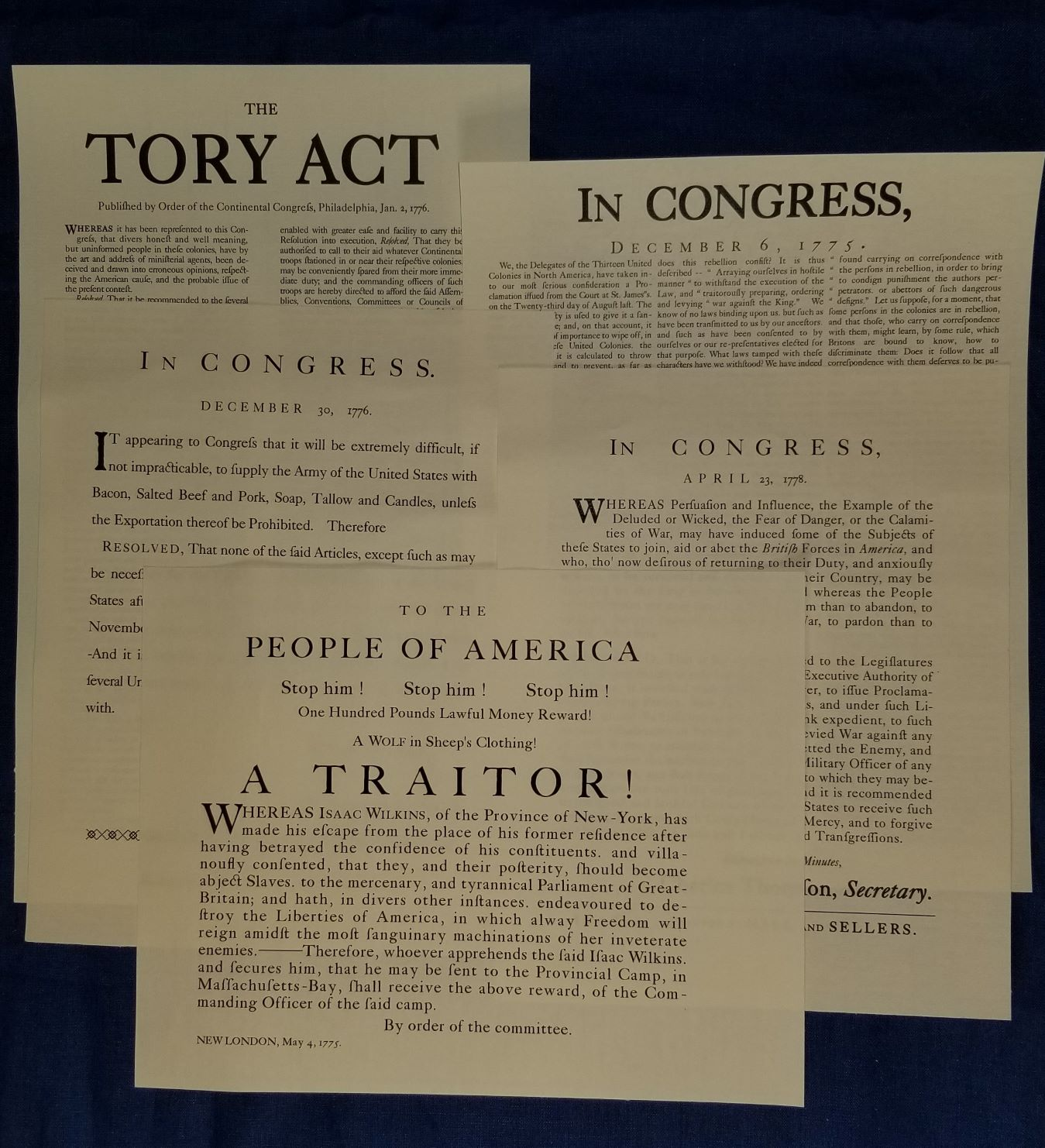 Continental Broadsides