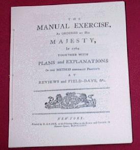1764 Manual Exercise - British Drill