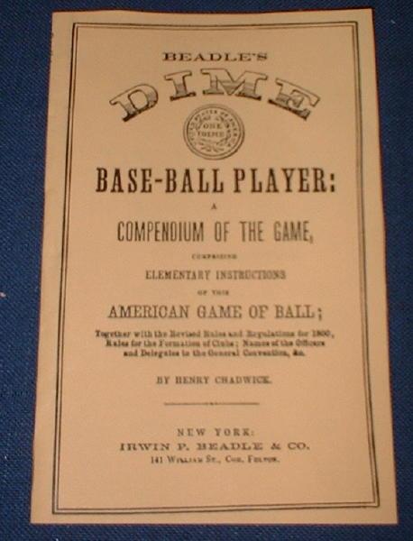 Dime Base Ball Player