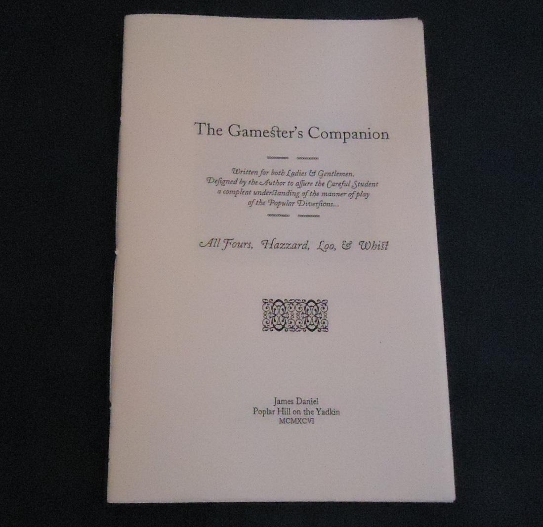 Gamester's Companion