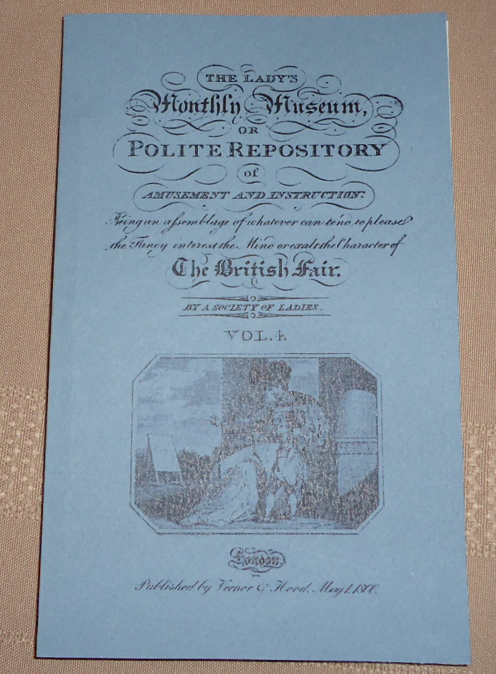 Lady's Monthly Museum May 1800
