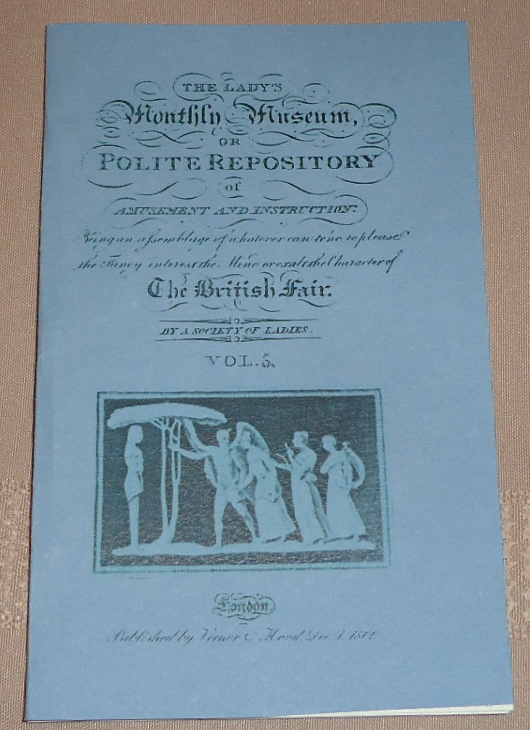 Lady's Monthly Museum December 1800