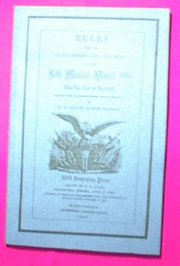 1861 Rifle Musket Manual