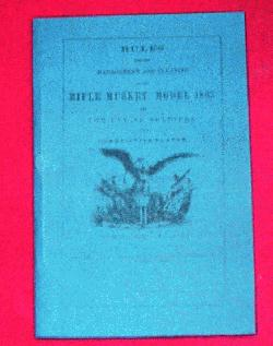 1863 Rifle Musket Manual
