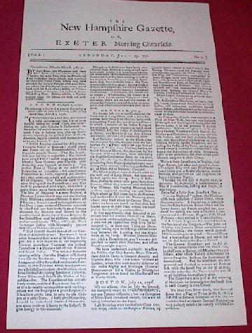New Hampshire Gazette