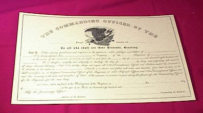 Non-Commissioned Officer's Warrant