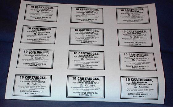 Sharps Cartridge Labels
