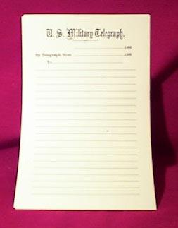 U.S. Military Telegraph