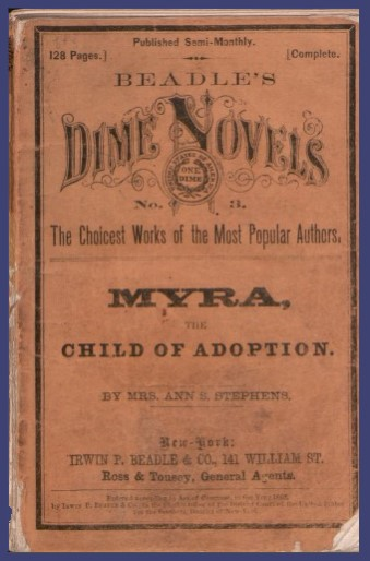 Dime Novel - Myra, Child of Adoption
