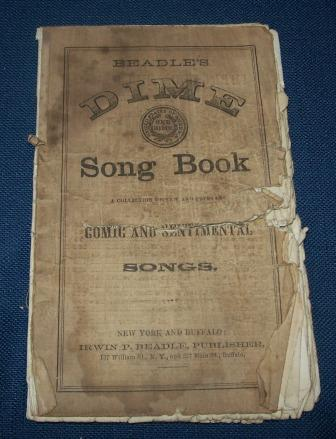 Dime Song Book Number 1