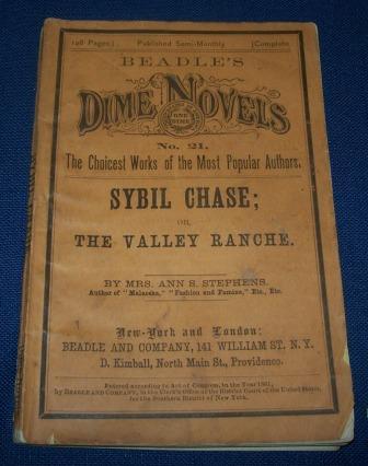 Dime Novel - Sybil Chase