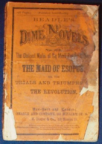 Dime Novel - The Maid of Esopus