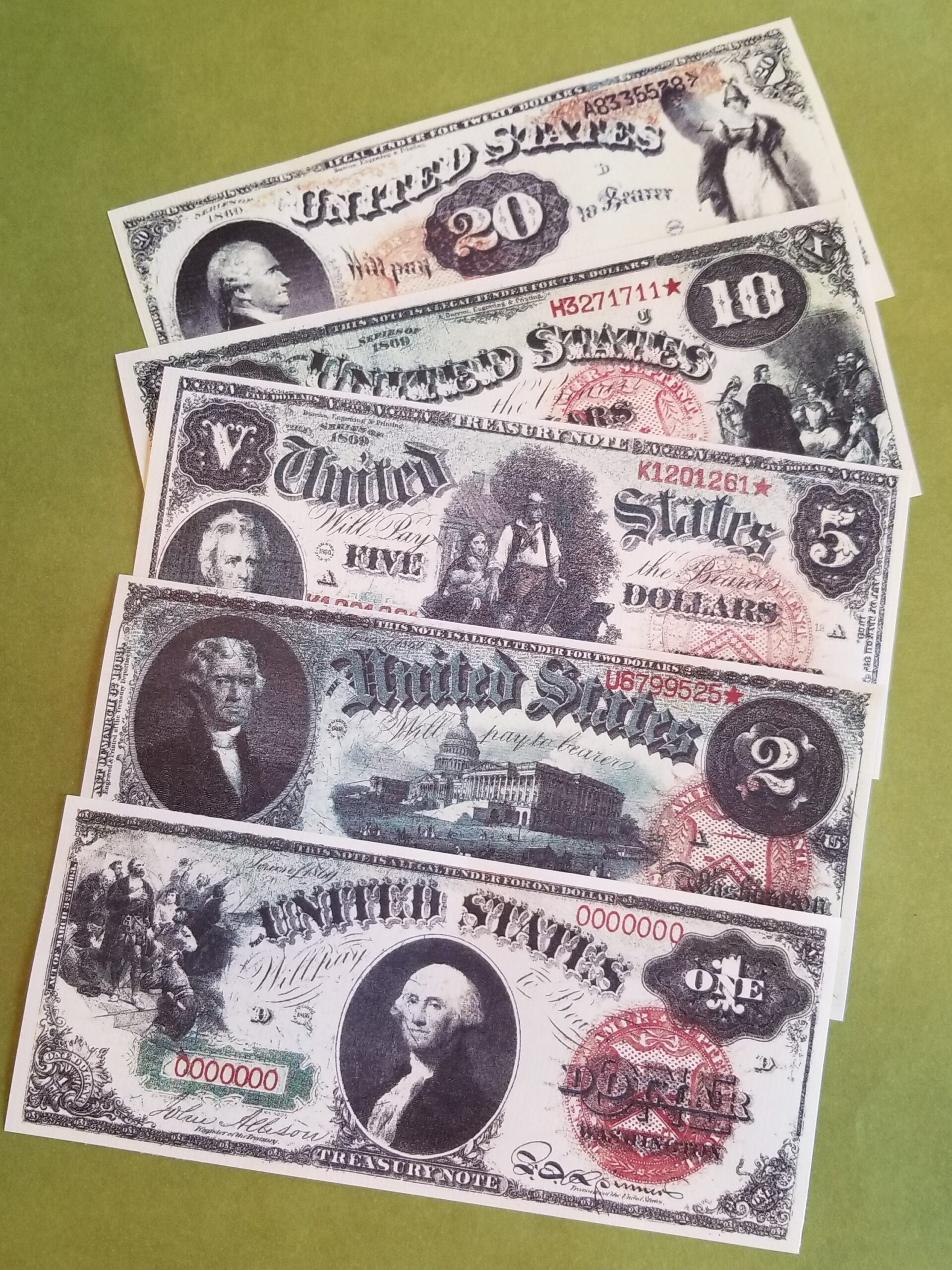 Money from the American West - 1869