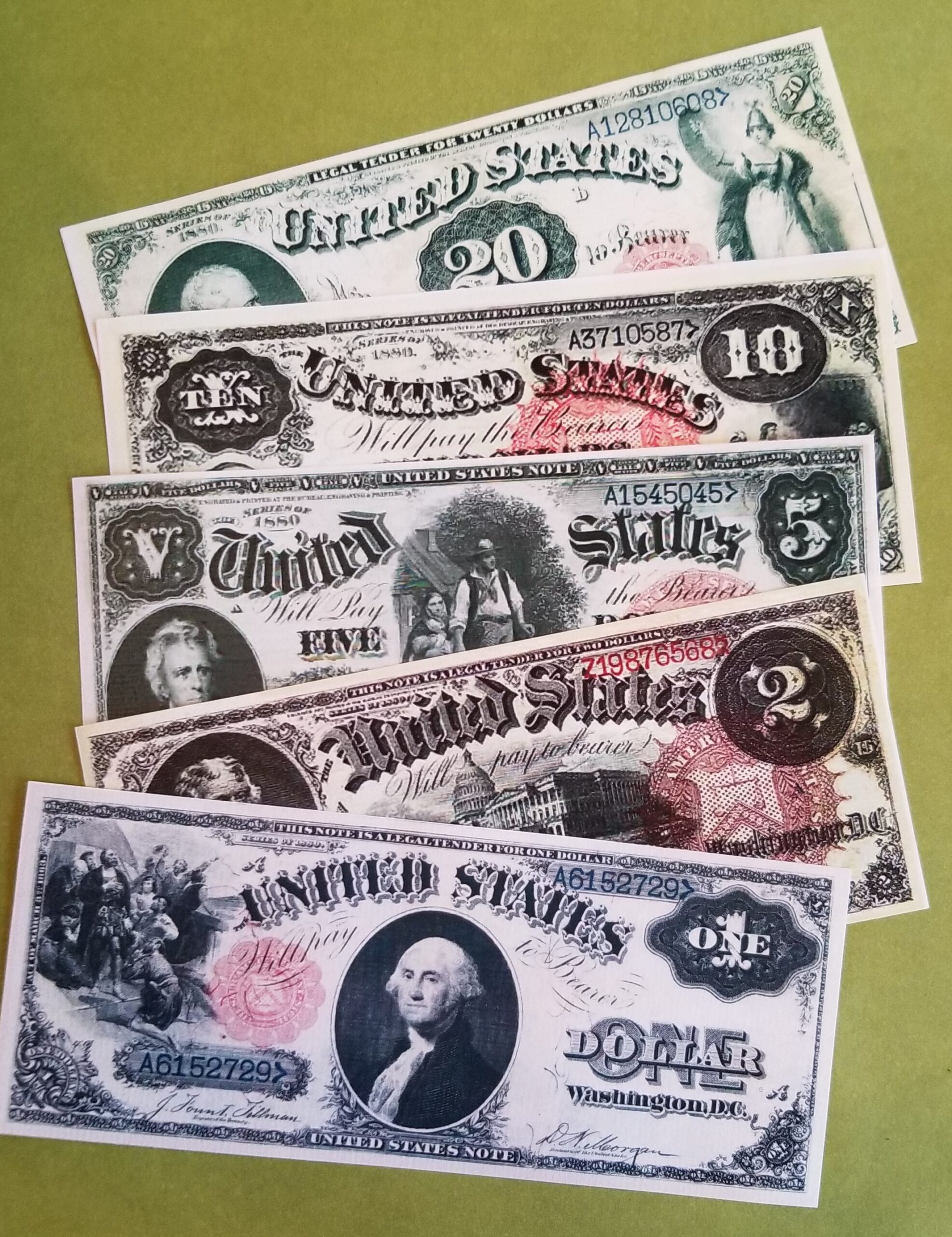 Money from the American West - 1880