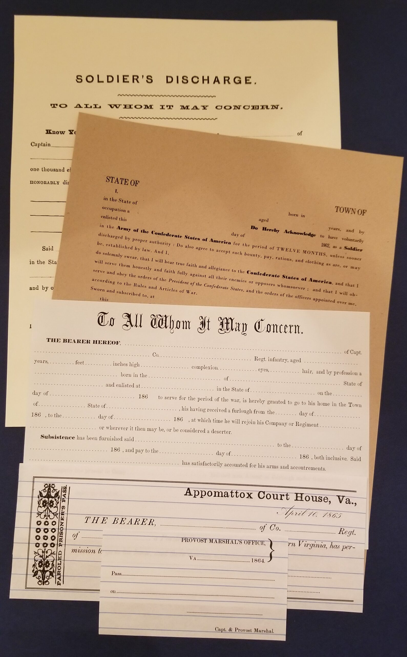 Papers of the Confederate Soldier